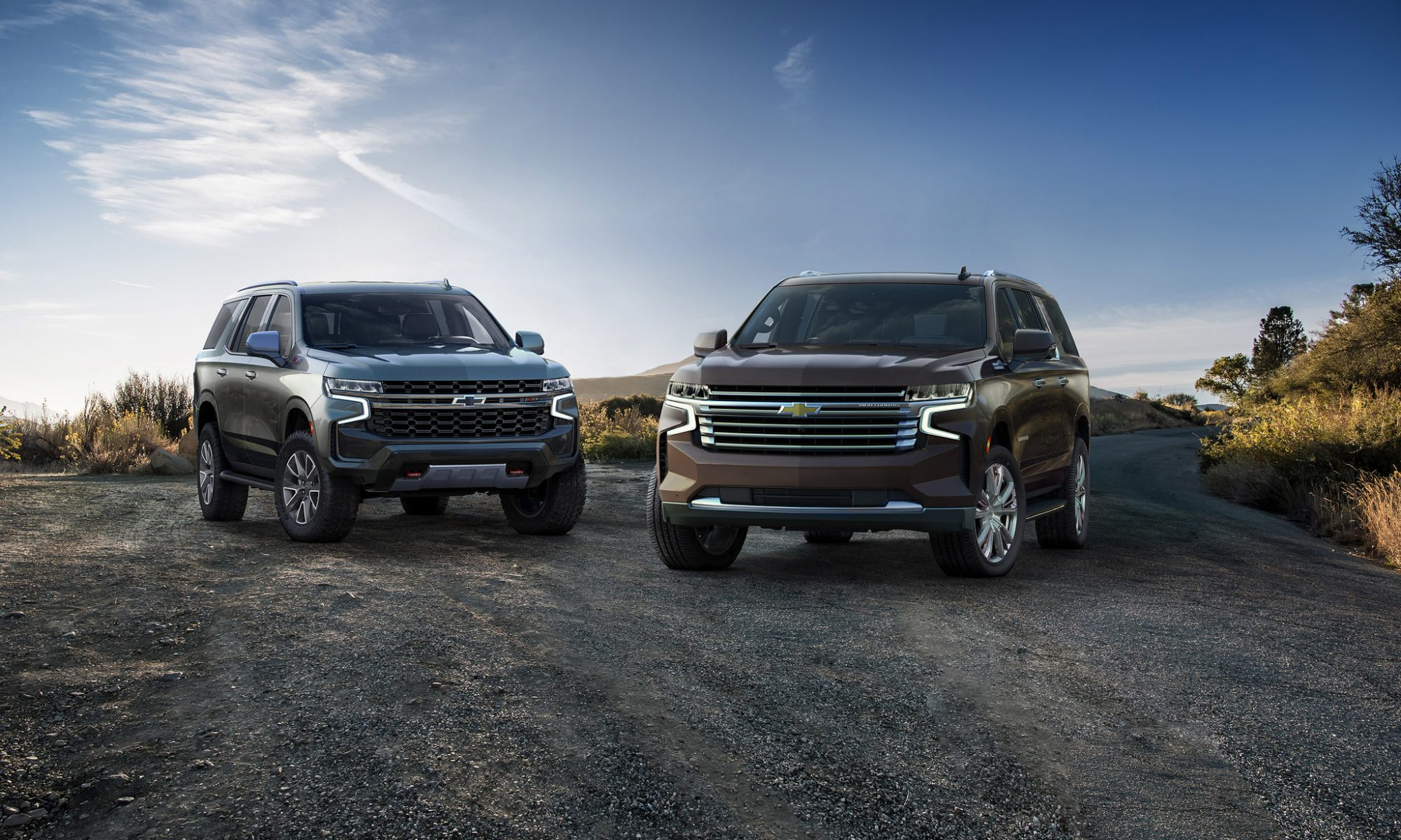 2021 Chevrolet Tahoe and Suburban